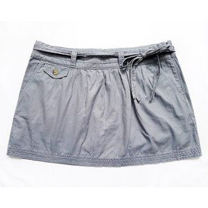 "NWOT Tie Waist Mini Skirt Size 6 (32"" x 13.75"")"